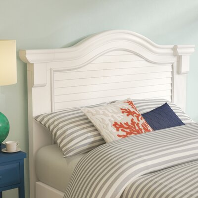Montcerf Panel Headboard Size: Queen, Color: Distressed Eggshell White