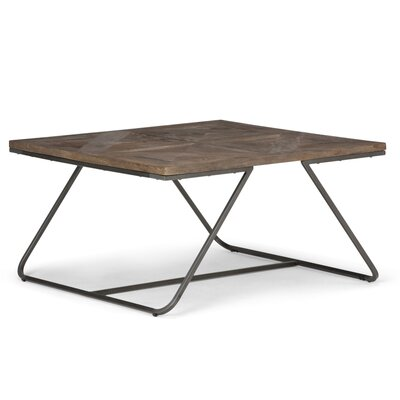 Hailey Coffee Table Size: 18.11 H x 34.06 H x 34.06 D