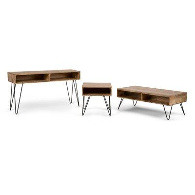 Hunter 3 Piece Coffee Table Set