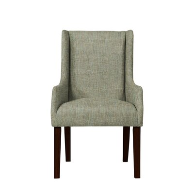 Hargraves Wingback Chair Upholstery: Gray