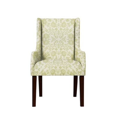 Trigg Wingback Chair Upholstery: Irene Fabric Beige/Off White