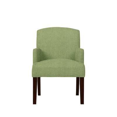Trilby Upholstered Dining Chair Upholstery: Green