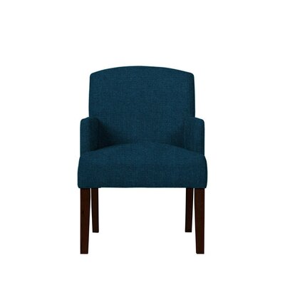 Trilby Upholstered Dining Chair Upholstery: Dark Blue