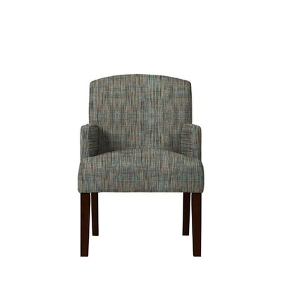 Trilby Upholstered Dining Chair Upholstery: Gray/Teal