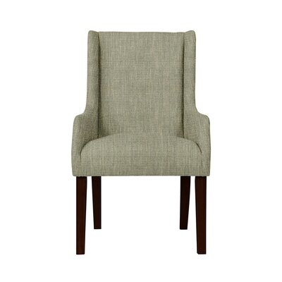 Trigg Wingback Chair Upholstery: Gray