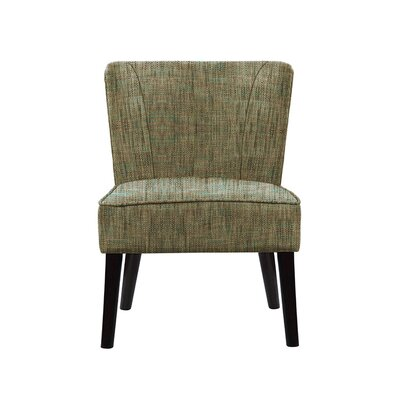 Triche Slipper Chair Upholstery: Brown Gray