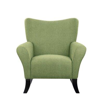 Troche Armchair Upholstery: Green