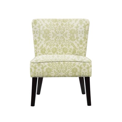 Trisler Slipper Chair Upholstery: Irene Fabric Beige/Off White