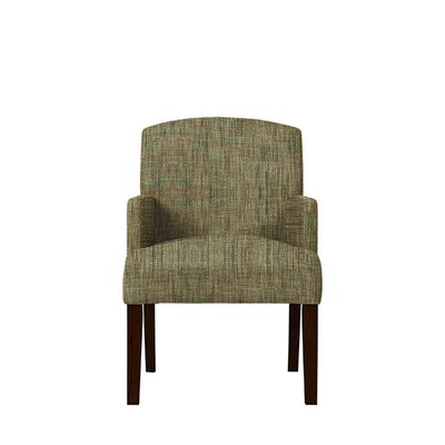 Trilby Upholstered Dining Chair Upholstery: Brown/Gray