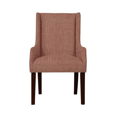 Trigg Wingback Chair Upholstery: Red/Coral