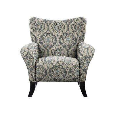 Troche Armchair Upholstery: Isla Fabric Gray/Blue