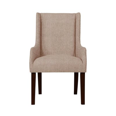 Trigg Wingback Chair Upholstery: Light Pink/Moss Rose