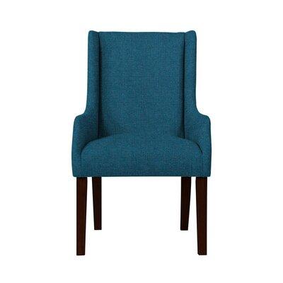 Hargraves Wingback Chair Upholstery: Light Blue