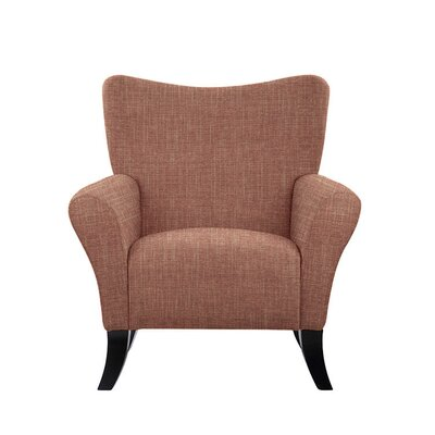 Troche Armchair Upholstery: Red/Coral
