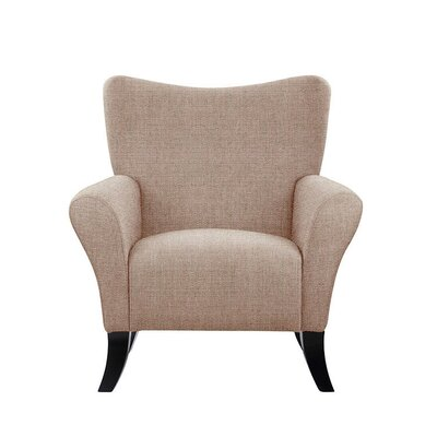 Troche Armchair Upholstery: Light Pink/Moss Rose