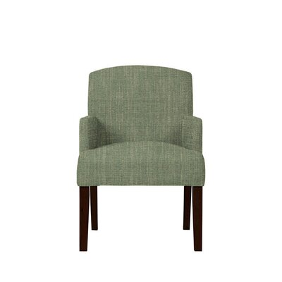 Trilby Upholstered Dining Chair Upholstery: Gray/Green