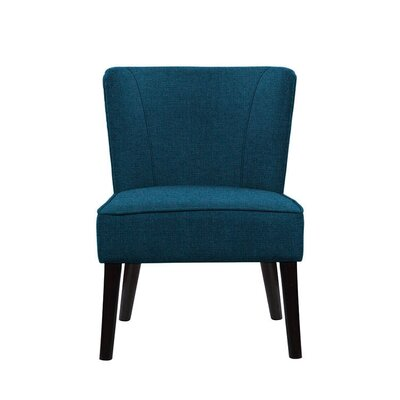 Trisler Slipper Chair Upholstery: Dark Blue