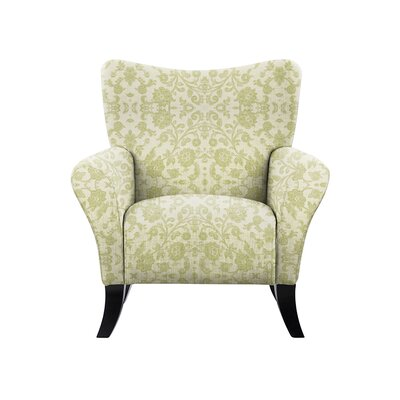 Troche Armchair Upholstery: Irene Fabric Beige/Off White
