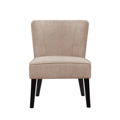 Trisler Slipper Chair Upholstery: Light Pink/Moss Rose