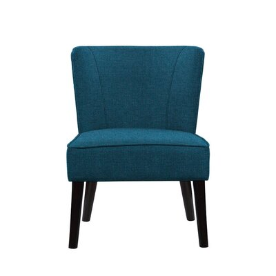 Trisler Slipper Chair Upholstery: Light Blue