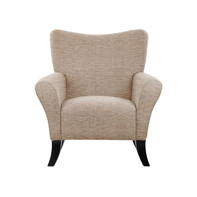 Troche Armchair Upholstery: Beige/Pink