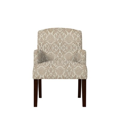 Trilby Upholstered Dining Chair Upholstery: Bentley Fabric Brown/Off White