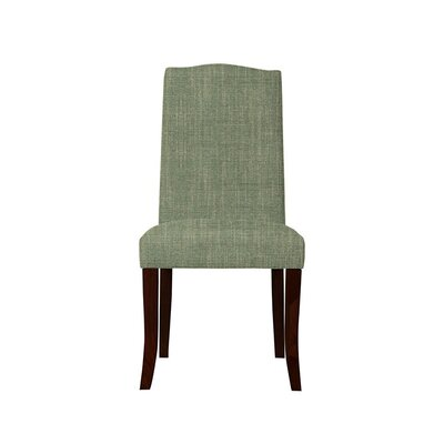 Trinity Place Upholstered Dining Chair Upholstery: Gray/Green