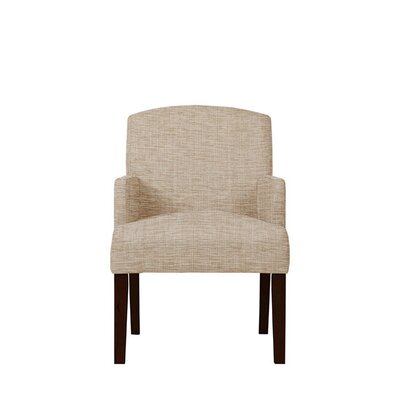 Trilby Upholstered Dining Chair Upholstery: Beige/Pink