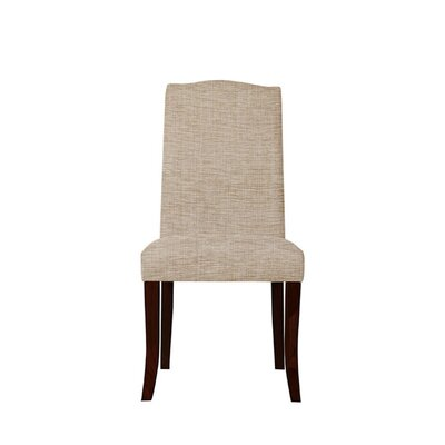 Trinity Place Upholstered Dining Chair Upholstery: Beige/Pink