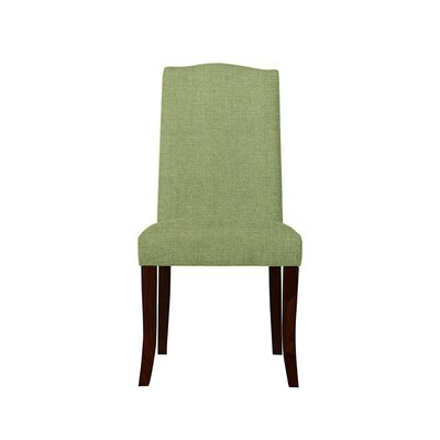 Trinity Place Upholstered Dining Chair Upholstery: Green
