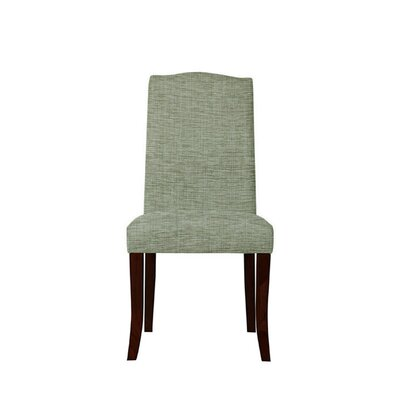 Trinity Place Upholstered Dining Chair Upholstery: Blue