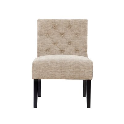 Troiano Slipper Chair Upholstery: Beige/Pink