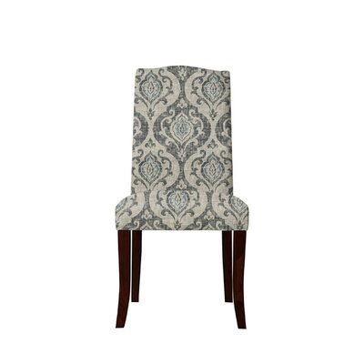 Trinity Place Upholstered Dining Chair Upholstery: Isla Fabric Gray/Blue