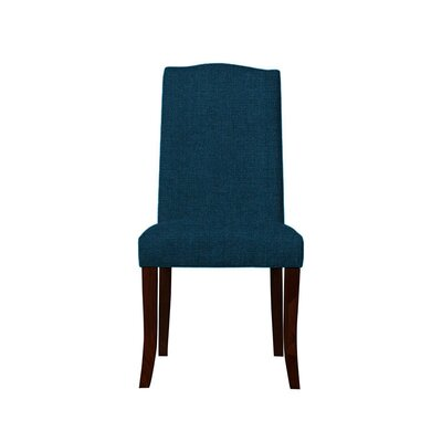 Trinity Place Upholstered Dining Chair Upholstery: Dark Blue