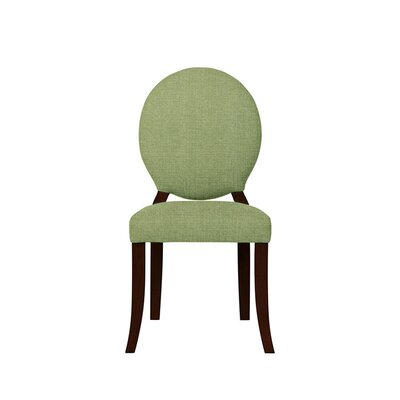 Tristen Upholstered Dining Chair Upholstery: Green