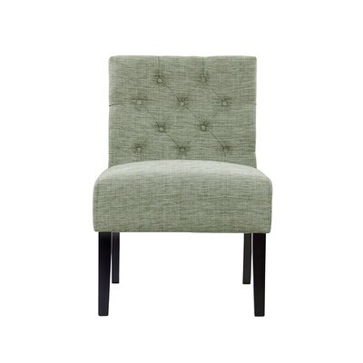 Troiano Slipper Chair Upholstery: Blue
