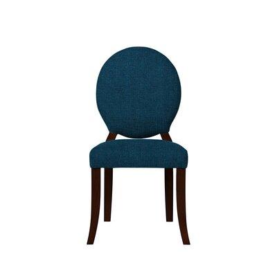 Tristen Upholstered Dining Chair Upholstery: Dark Blue