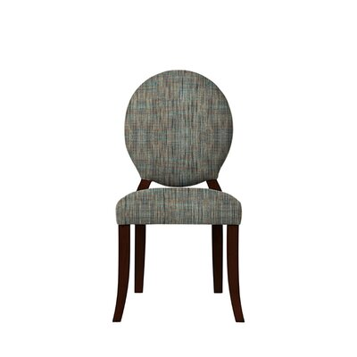 Tristen Upholstered Dining Chair Upholstery: Gray/Teal