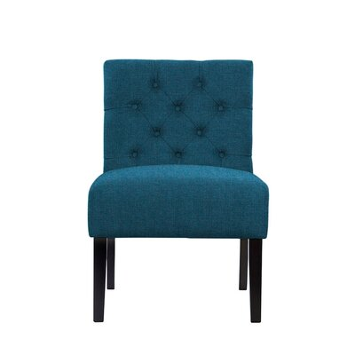 Troiano Slipper Chair Upholstery: Light Blue