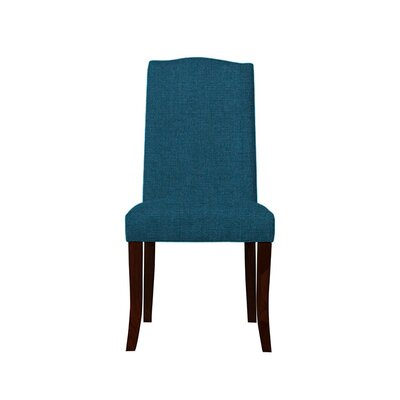 Trinity Place Upholstered Dining Chair Upholstery: Light Blue