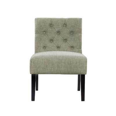 Troiano Slipper Chair Upholstery: Gray