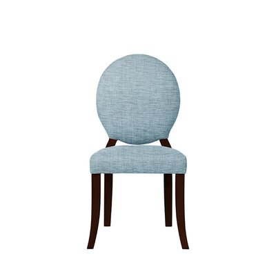 Tristen Upholstered Dining Chair Upholstery: Gray