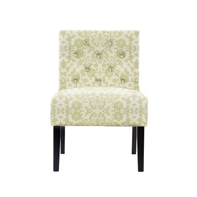 Troiano Slipper Chair Upholstery: Irene Fabric Beige/Off White