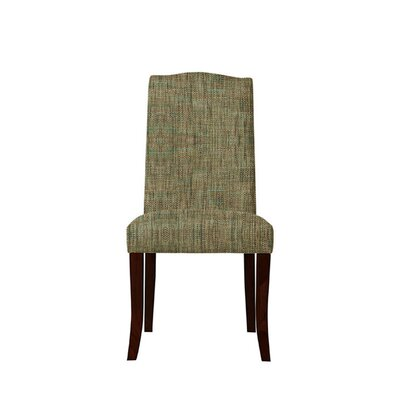 Trinity Place Upholstered Dining Chair Upholstery: Brown/Gray