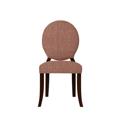 Tristen Upholstered Dining Chair Upholstery: Red/Coral