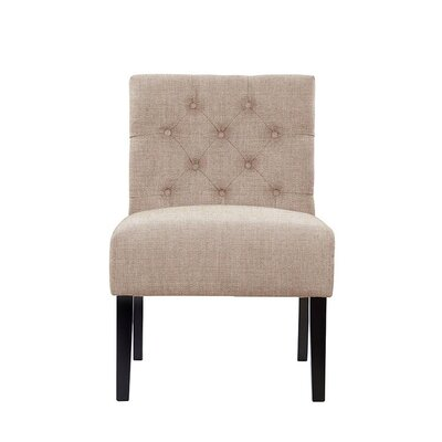 Troiano Slipper Chair Upholstery: Light Pink/Moss Rose