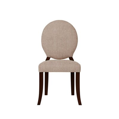 Tristen Upholstered Dining Chair Upholstery: Light Pink/Moss Rose