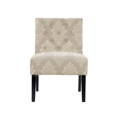 Troiano Slipper Chair Upholstery: Prey Fabric Taupe