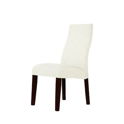 Trogdon Upholstered Dining Chair Upholstery: Irene Fabric Beige/Off White