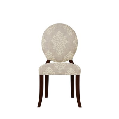 Tristen Upholstered Dining Chair Upholstery: Prey Fabric Taupe